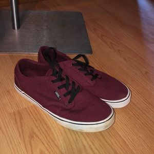 Vans Boys size 7 shoes Vans Off the Wall